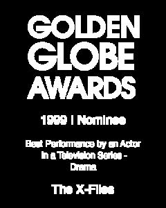 David Duchovny_Golden Globe_1999