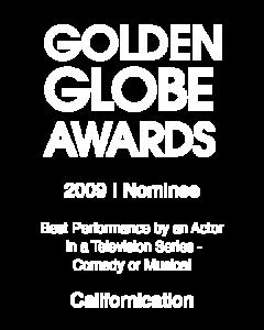 David Duchovny_Golden Globe_2009