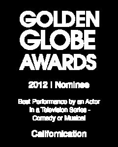 David Duchovny_Golden Globe_2012